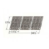 "17-3/4"" X 34-1/2"" cast iron cooking grid"