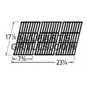 17-1/2 X 23-1/4 Matte Cast Iron Cook grid - 3 pc