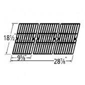 18-1/2 X 28-7/8  (3 pc.) cast iron grid set