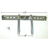 "17"" Stainless Steel ""T"" Burner"