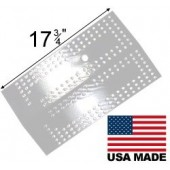 "17-11/16"" X 10-1/4"" Stainless steel heat plate"