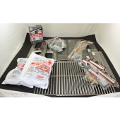"8-1/8"" x 16"" Charmglow Rebuild Kit w/ Stainless Steel cooking grids"
