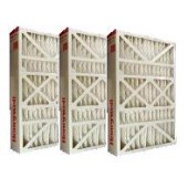 "Case of 5 Honeywell 16"" x 25"" x 5"" Filter Media."