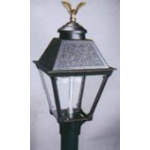 Black Cast Alum. Lamp (HK1A)-Order Post Separately