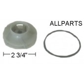 Plastic Impeller for Bearing Assembly