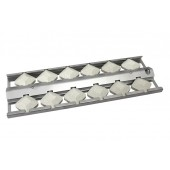 "5"" Stainless Steel Briquette tray"