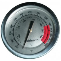 "3-1/8"" Diameter Round Heat Indicator Temperature Gauge"