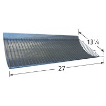 "27"" X 13-1/4"" Aluminized Steel Ash Pan"