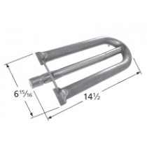 "14-1/2"" X 6-1/4"" Stainless Steel Tube Burner"