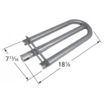 "18-1/8"" X 7-13/16"" Stainless Steel Pipe Burner"