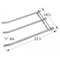 """22-1/4"""" X 14-5/8"""" stainless steel 3-tube burner"""