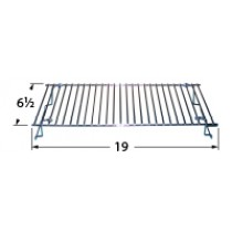 "19"" X 6-1/2"" chrome steel wire warming rack"