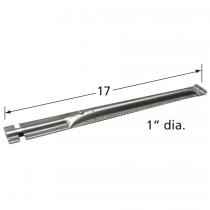 "17"" x 1"" Stainless Steel Pipe(tube) Burner"