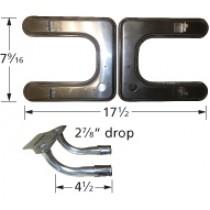 "17-1/2"" X 7-9/16"" 'H' Stainless Steel Burner 19102-79202"