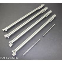 "21-1/8"" (6pc) Weber Stainless Steel Burner Kit w/ Crossover Tube"