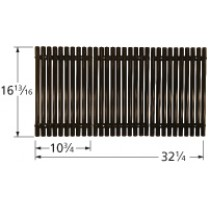 "16-13/16"" X 32-1/4"" Porcelain Coated Steel Cooking Grid Set 50523"