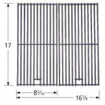 "17"" X 16-3/8"" Stainless Steel Wire Cooking Grid 2-pc 5S332"
