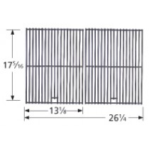 "17-5/16"" X 26-1/4"" Stainless Steel Wire Cooking Grid 2-pc 5S362"