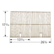 "17-3/16"" X 26-3/8"" Stainless Steel Clad Wire Cooking Grid"