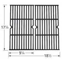 "17-1/4"" X 1/-1/2"" Porcelain Coated Cast Iron Cooking Grid 63172"