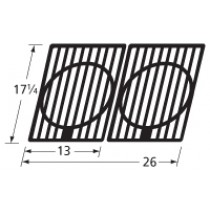 17-1/4 X 26 Matte C.I Cooking Grid (2)