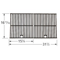 "16-11/16"" X 31-1/2"" Porcelain Coated Cast Iron Cooking Grids 66172"