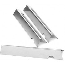 """17-1/8"""" X 3"""" Stainless Steel Heat Angle Bars Set of 3 66794 66031"""