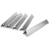 Set of stainless steel heat angle bars for Weber Genesis II 310 and LX 340 models