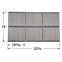 "19"" X 32-7/16"" Porcelain Coated Cast Iron Cooking Grid"