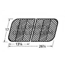 "17"" X 26-3/4"" Porcelain coated Cast Iron Grid"
