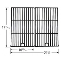 "17-13/16"" X 21-3/8"" Porcelain Coated Cast Iron Cooking Grid"