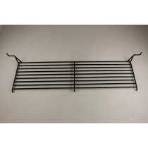 "7-1/4"" X 20-7/8"" Porcelain Steel Wire Swing Away Warming Rack"