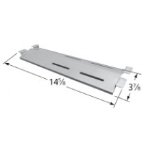 "14-5/8"" X 3-7/8"" Stainless Steel Heat Plate"
