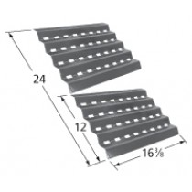 "16-3/8"" X 24"" Porcelain Steel Heat Plate set"