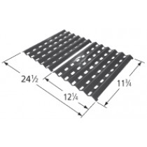 "11-3/4"" X 24-1/2"" Porcelain Steel Heat Plate Set"