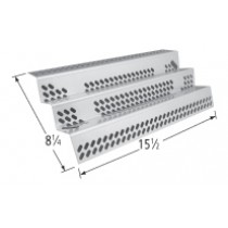 "15-1/2"" X 8-1/4"" Stainless Steel Heat Plate"