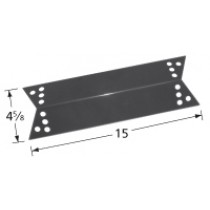 "15"" X 4-5/8"" Porcelain Steel Heat Plate"