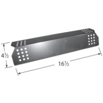 "16-1/2"" X 4-1/2"" Stainless Steel Heat Plate"