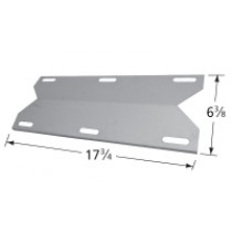 "17-3/4"" X 6-3/8"" Stainless Steel Heat Plate"