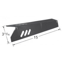 """15"""" x 3-3/4"""" Stainless Steel Heat Plate"""