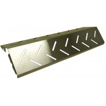 "14-1/4"" X 4-3/4"" Stainless Steel Heat Plate"