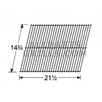 "14-3/4"" X 21-1/2"" Steel Wire Briquet Rock Grate"
