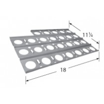 "18"" x 11-1/4"" Stainless Steel Heat Plate w/cutout"