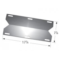 "17-3/4"" x 7-7/8"" Stainless Steel Heat Plate"