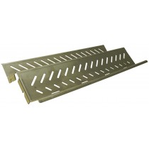 """14-1/8"""" X 7-1/16"""" Stainless Steel Heat Plate"""