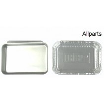 "Aluminum Catch Pan Kit 8-5/8"" X 6-1/8"""