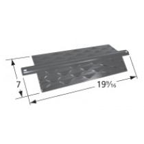 "19-9/16"" x 7"" porcelain coated steel heat plate"
