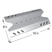 """16-1/8 X 8-1/4"""" Stainless Steel Heat Plate"""