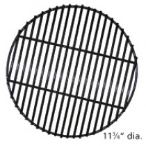 "11-3/4"" Diameter Porcelain Coated Steel Wire Briquette Grate"