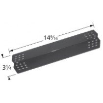 "14-9/16"" x 3-1/4"" Porcelain Coated Steel Heat Plate"